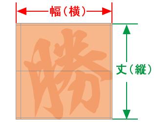 パイフラのカスタムサイズ図